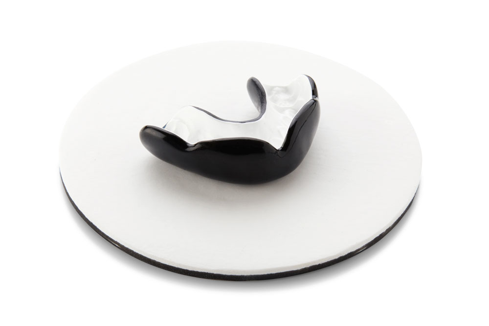 Mouthguards Perth - Black and White - Total Denture Care